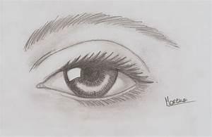 Female Eye draw by Moreno87 on DeviantArt