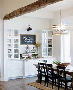 25 best ideas about dining buffet on pinterest dining With kitchen cabinets lowes with high ceiling wall art