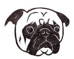 boston terrier pumpkin pattern dog face stencil dogs