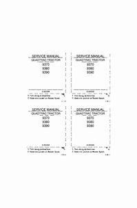 Case Ih 9370  9380  9390 Service Manual