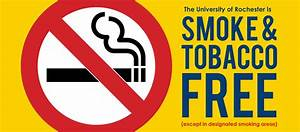 Tobacco-Free Campus :: University of Rochester Environmental Tobacco Smoke