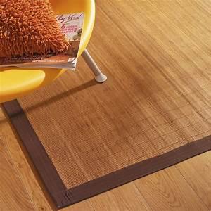 Tapis De Cuisine Ikea : tapis naturel bambou naturel x cm leroy merlin ~ Teatrodelosmanantiales.com Idées de Décoration