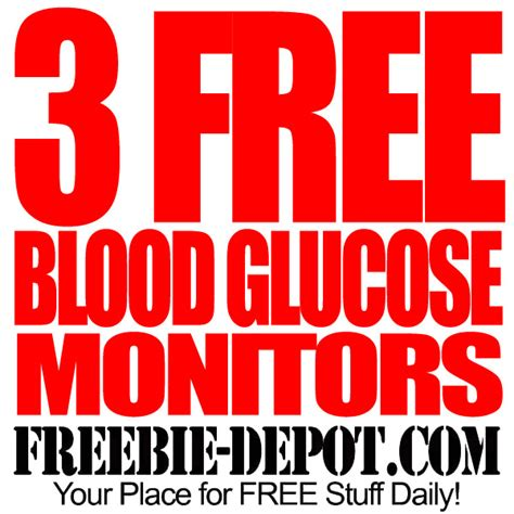 3 Free Blood Glucose Monitors