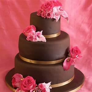 3 tier chocolate wedding cake recipe - idea in 2017 ...