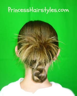 Easy Hairstyles The Pineapple Braid Hairstyles For