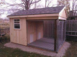 storage sheds archives hishon woodworking With storage shed with dog kennel