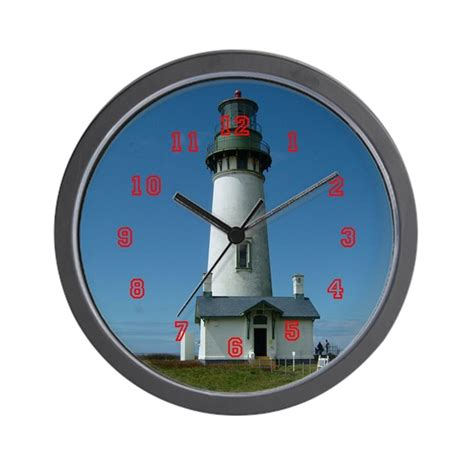 lighthouse wall clock by whaleswatch