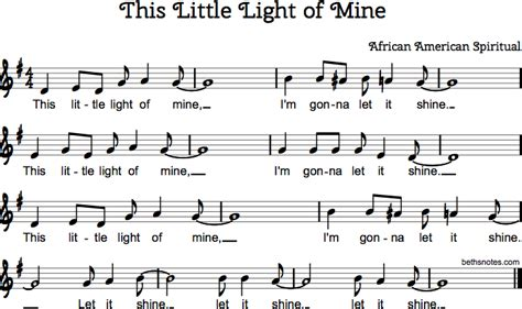 this light of mine chords this light of mine beth s notes