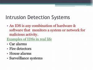 Intrusion Detection Via Sms