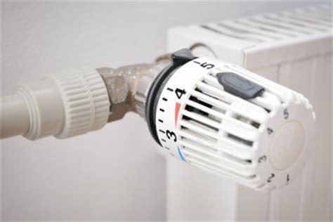 thermostat für heizung heizung thermostat energiesparend einstellen