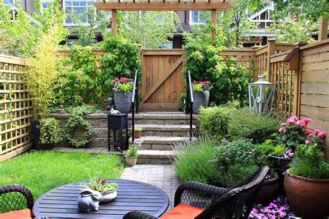 garden ideas for small backyards six tips to spruce up a small garden in time for summer