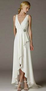 simple elegant high low wedding dress for older brides With elegant wedding dresses for mature brides