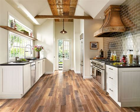 The tile with differential is one of the most important design decisions you will make. Wooden Floor Kitchen1