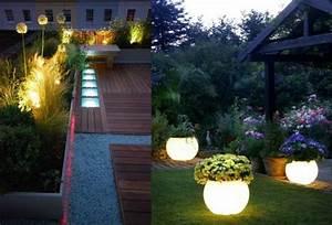 led indirekte beleuchtung im garten 46 ideen With französischer balkon mit garten lichter