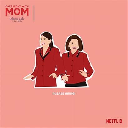 Night Date Gilmore Mom Netflix Gifs Tribute