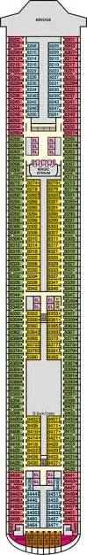 carnival deck plan cruise critic carnival magic cruise ship deck plans on cruise critic