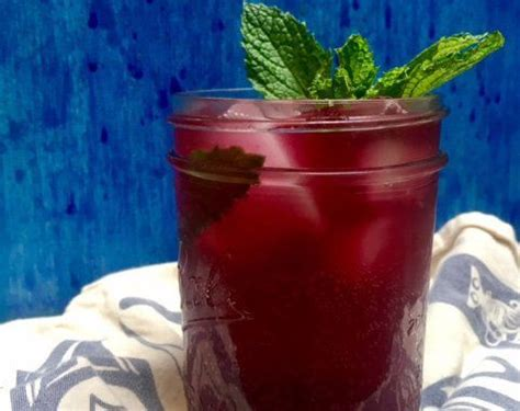 blueberry mojitos heres  pitcher full  flavor