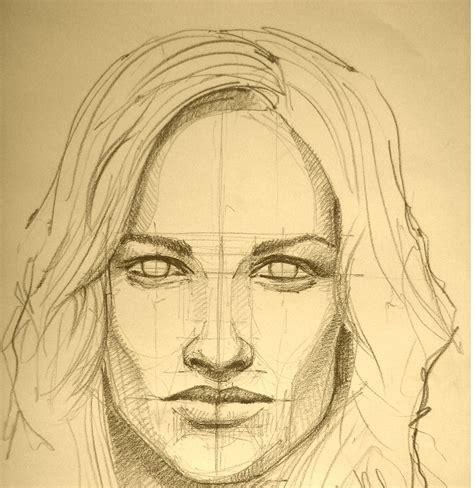 technique  portrait pencil drawing  beginners