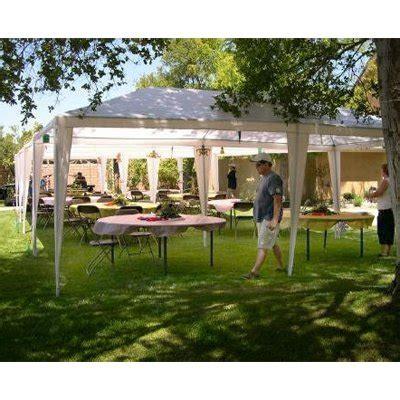 Back Yard Tent Wedding Ideas