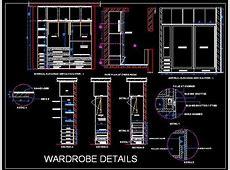 Sliding Wardrobe Detail Plan n Design