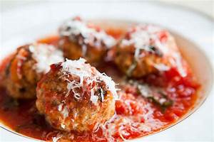 Sausage Meatballs with Ricotta in Tomato Sauce Recipe