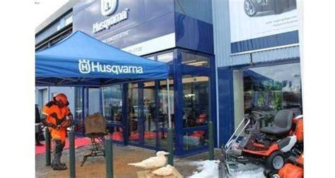 husqvarna shop husqvarna opens concept store outdoor power equipment