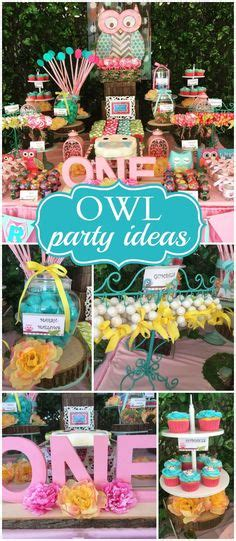owl themed parties ideas  pinterest owl
