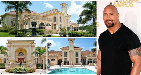 new style homes dwayne johnson net worth salary house car