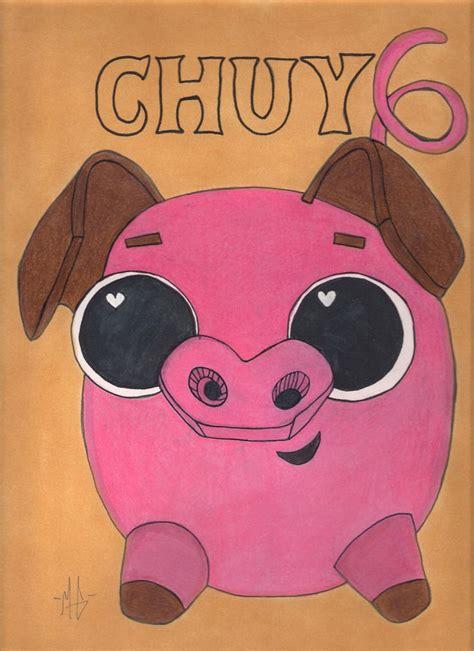 book  life chuy pig drawing sketch art