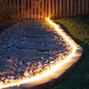 Landscape rope light image of led outdoor