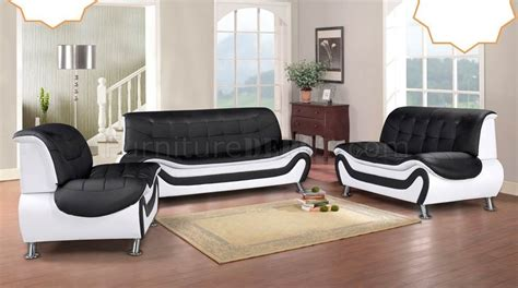 Sofa Black And White by Edna Sofa Loveseat Set In Black And White