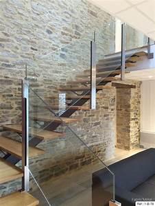 Escalier Metal Et Bois : les 25 meilleures id es concernant escaliers modernes sur ~ Dailycaller-alerts.com Idées de Décoration