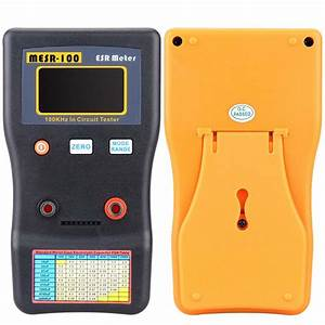 Circuit Capacitors Tester  Capacitance Meter   Test Clips1