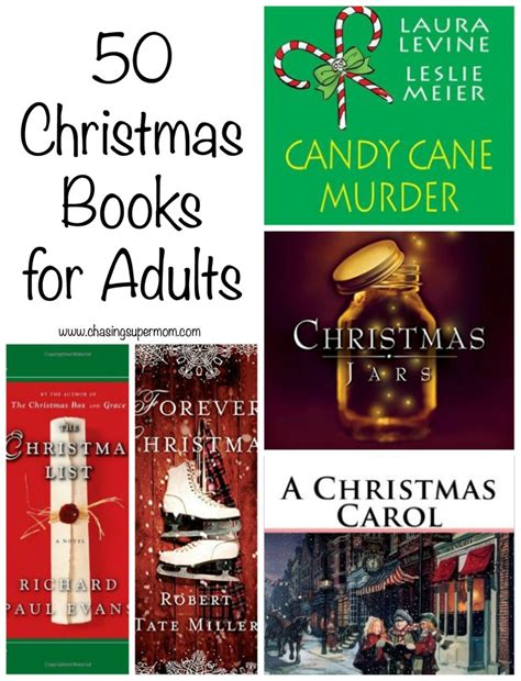 50 christmas books for adults holiday must read list