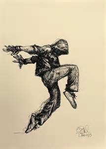 Hip Hop Dancer Drawing