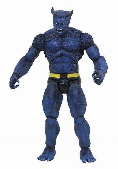 Beast Marvel Action Figure Select Diamond Inch