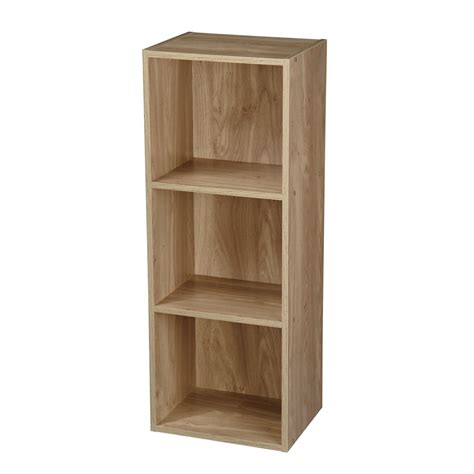 New Wooden Display Storage Units Furniture Shelve White