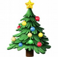 Image result for christmas tree emoji