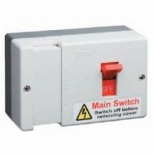Main Switch Fuse 80a Fusebox Single Phase Meterboard Db700