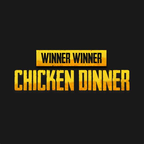 chicken dinner winner winner chicken dinner player unknowns battle grounds t shirt teepublic
