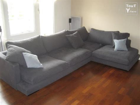 grand canapé d angle en tissu canapé d 39 angle gris en tissu très grands chagne ardenne