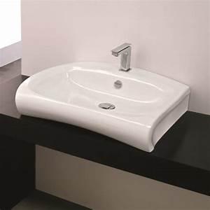 Aufsatzwaschbecken Mit Platte : hidra ceramica aufsatzwaschbecken mit hahnloch hi line ~ Michelbontemps.com Haus und Dekorationen