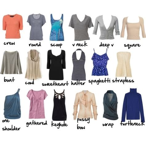 Types of Necklines - Fashionsizzle