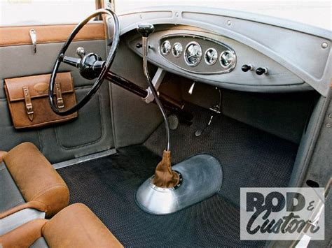 1930 Ford Model A Coupe Dashboard Photo 3