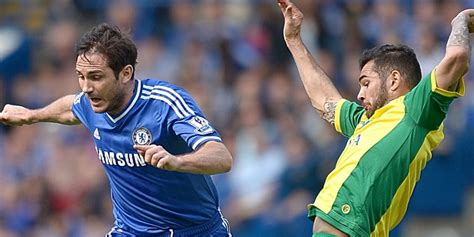 chelsea frustrated   canaries cling  west london