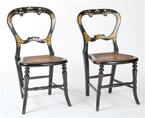 Pair Of Victorian Children's Chairs For Sale At 1stdibs
