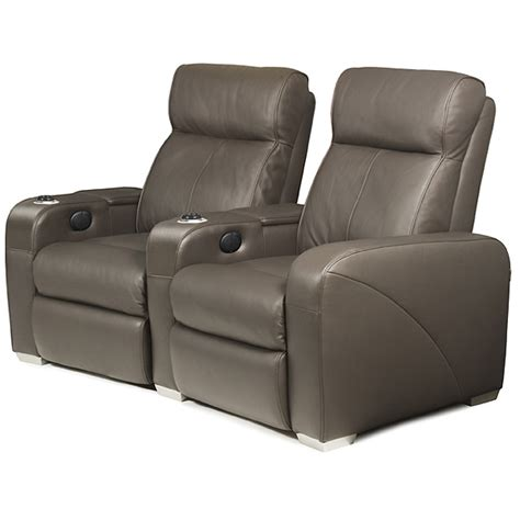 premiere home cinema seating 2 seater brown cinema