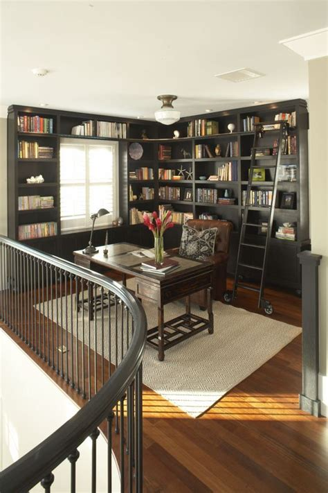 loft idea  office  library    comfy reading chairs    idea