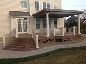 raleigh patio and deck north carolina exteriors With patio with deck