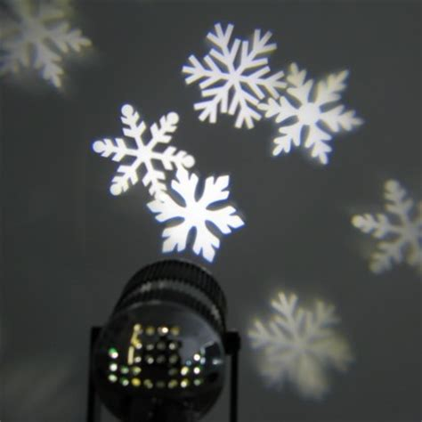 led snowflake projector